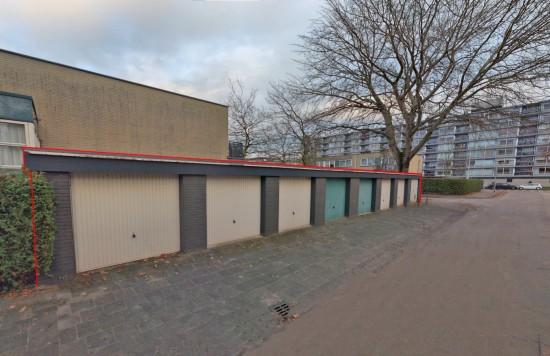 Verstrekte hypothecaire lening op een acht garageboxen bestemd voor de verhuur te Leeuwarden