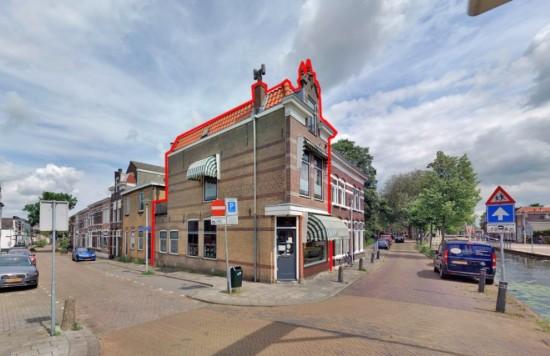 Verstrekte hypothecaire lening op een te realiseren appartement met bovenwoning met een exitfee bestemd voor de verhuur te Gouda