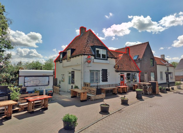 Te verstrekken hypothecaire lening op een bedrijfsruimte met bovenwoning bestemd voor de verhuur te Aardenburg