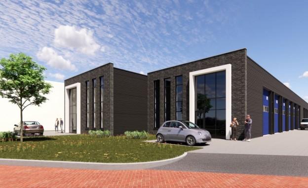 Te verstrekken hypothecaire lening op een nieuw te bouwen bedrijfsruimte bestemd voor de verhuur te Zwolle