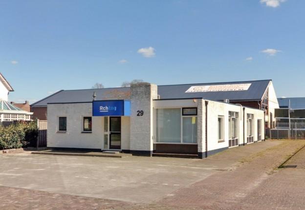 Te verstrekken hypothecaire lening op een kantoorruimte bestemd voor de verhuur te Hengelo