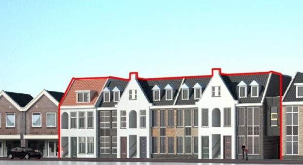 Te verstrekken hypothecaire lening op een ontwikkelingslocatie voor meerdere woningen te Ommen