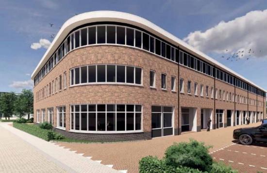 Verstrekte hypothecaire lening op een nieuw te bouwen bedrijfsruimte bestemd voor de verhuur te Weesp