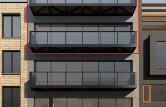 Verstrekte hypothecaire lening op een nieuw te bouwen woning te Amsterdam