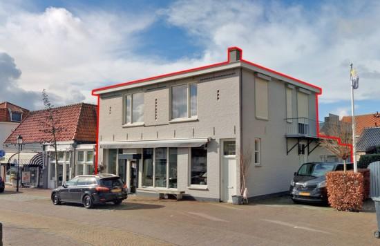 Verstrekte hypothecaire lening op een winkelruimte met bovenwoning bestemd voor de verhuur te Tholen
