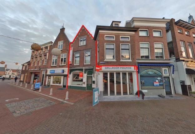 Te verstrekken hypothecaire lening met een exitfee van € 3.850,- op een horecagelegenheid met bovenwoning bestemd voor de verhuur te Maassluis