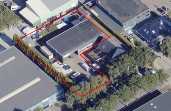 Verstrekte hypothecaire lening op een bedrijfsruimte met bedrijfswoning te Roden
