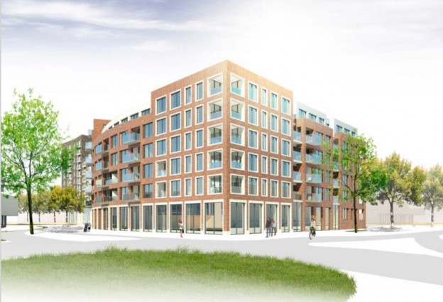 Te verstrekken hypothecaire lening op een nieuw te bouwen commerciële ruimte te Alphen aan den Rijn
