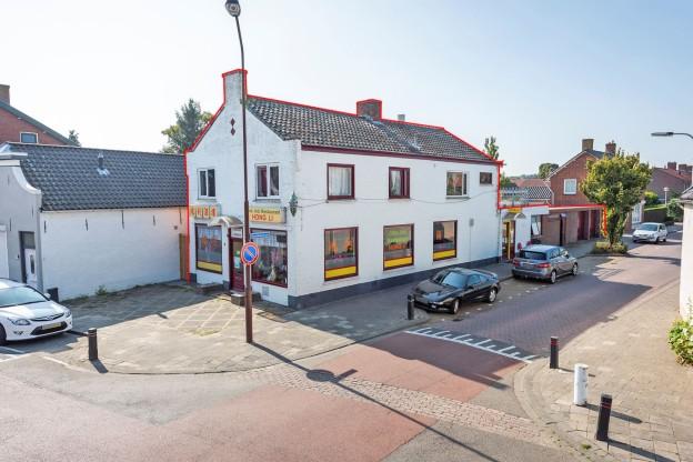 Te verstrekken hypothecaire lening op een commerciële ruimte met bovenwoning bestemd voor de verhuur te Oud Gastel