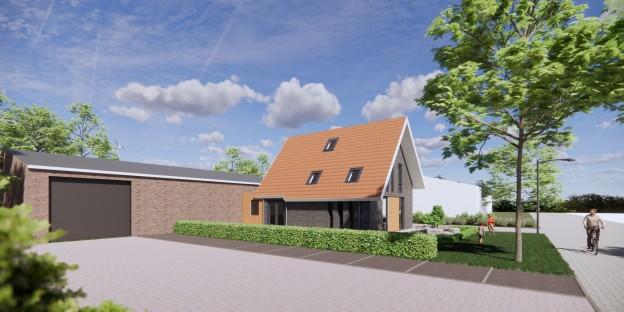 Te verstrekken hypothecaire lening op een bestaande bedrijfsruimte en nieuw te bouwen woning bestemd voor de verkoop te Harkema