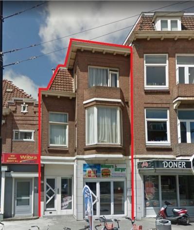 Te verstrekken hypothecaire lening op een commerciële ruimte met aparte bovenwoning bestemd voor de verhuur te Rotterdam
