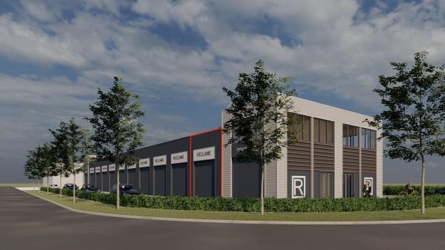 Te verstrekken hypothecaire lening op een nieuw te bouwen bedrijfsruimte bestemd voor de verhuur te Zutphen