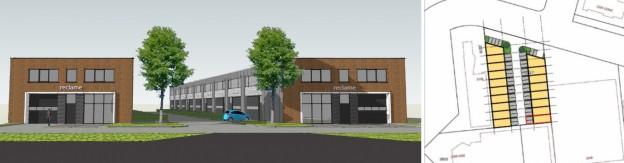 Te verstrekken hypothecaire lening op een nieuw te bouwen bedrijfsunit met twee eigen parkeerplaatsen te Nijmegen