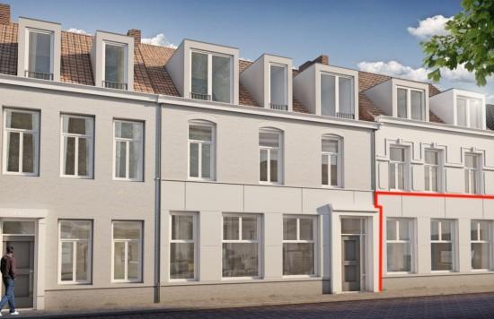 Verstrekte hypothecaire lening op een te ontwikkelen appartement met een exitfee van € 3.437,- te Sas van Gent