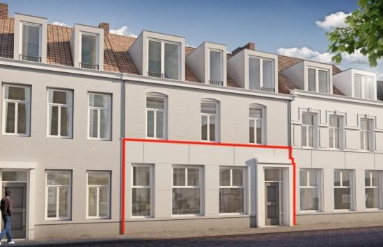 Verstrekte hypothecaire lening op een te ontwikkelen appartement met een exitfee van € 2.250,- te Sas van Gent