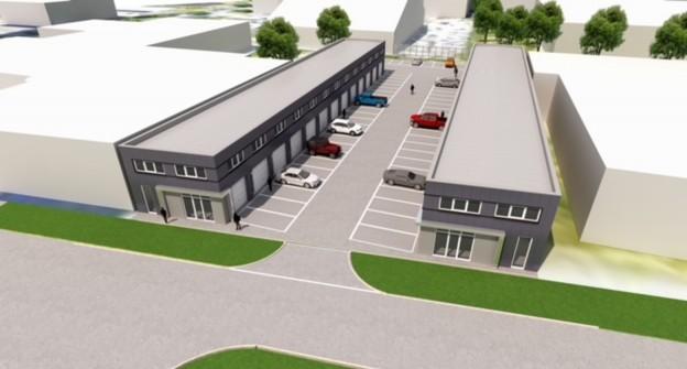 Te verstrekken hypothecaire lening op een nieuw te bouwen bedrijfsruimte te Almere