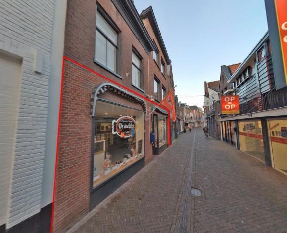 Te verstrekken hypothecaire lening op een commerciële ruimte bestemd voor de verhuur te Maassluis