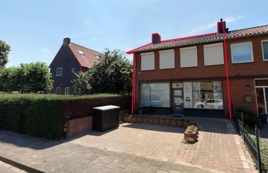 Verstrekte hypothecaire lening op een bedrijfsruimte met bovenwoning bestemd voor eigen gebruik te Leveroy