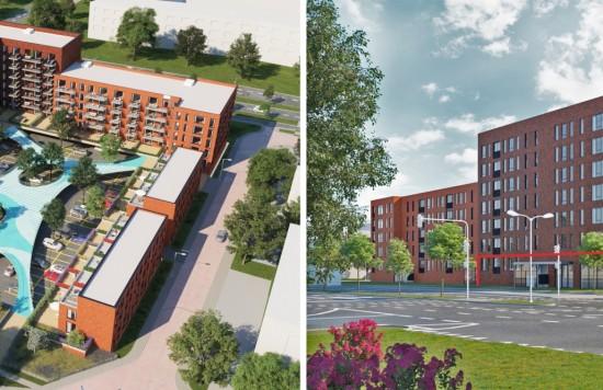 Verstrekte hypothecaire lening op een nieuw te bouwen commerciële ruimte en 50 openbare parkeerplaatsen te Nieuwegein