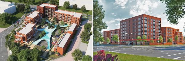 Te verstrekken hypothecaire lening op een nieuw te bouwen commerciële ruimte en 50 openbare parkeerplaatsen te Nieuwegein
