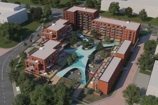 Te verstrekken financiering op zeven nieuw te bouwen garageboxen bestemd voor de verhuur te Nieuwegein