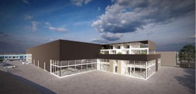 Te verstrekken hypothecaire lening op een nieuw te bouwen bedrijfsruimte en twee woningen met een gestaffelde exitfee van maximaal € 15.000,- bestemd voor de verhuur te Berkel en Rodenrijs