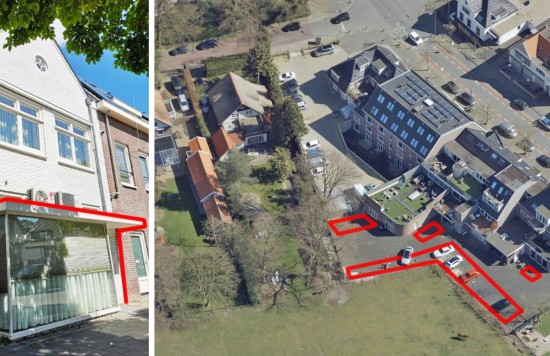 Verstrekte hypothecaire lening op een woonhuis, een kantoorruimte en 20 parkeerplaatsen bestemd voor de verhuur te Soest