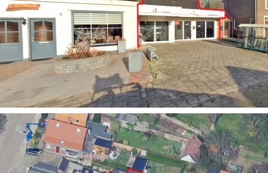 Verstrekte hypothecaire lening op een bedrijfsruimte met woning bestemd voor de verhuur te Den Burg