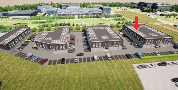 Te verstrekken hypothecaire lening op een nieuw te bouwen bedrijfsruimte bestemd voor de verhuur te Almere