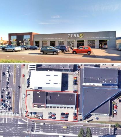 Te verstrekken hypothecaire lening op een commerciële ruimte bestemd voor de verhuur te Breda