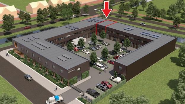 Te verstrekken hypothecaire lening op een nieuw te bouwen bedrijfsruimte te Amersfoort