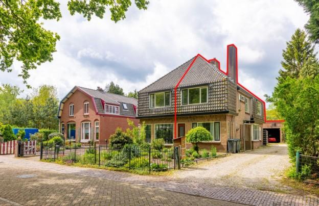 Te verstrekken hypothecaire lening op een woning met bedrijfsruimte te Huis ter Heide