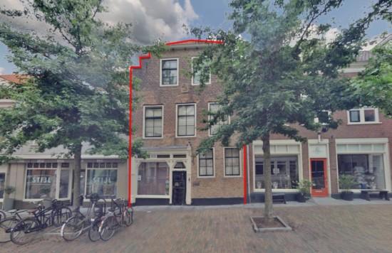 Verstrekte hypothecaire lening op een winkelruimte met bovenwoning bestemd voor de verhuur te Leerdam