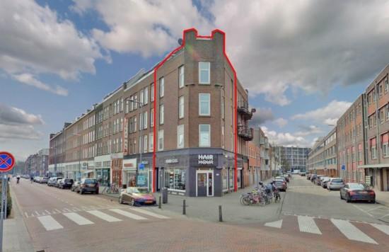 Verstrekte hypothecaire lening op een commerciële ruimte met drie zelfstandige woningen bestemd voor de verhuur te Rotterdam