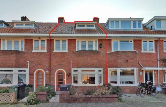 Verstrekte hypothecaire lening op een te renoveren woning bestemd voor de verkoop met een exitfee van € 1.125,- te Haarlem