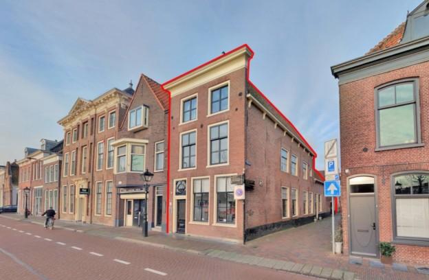 Te verstrekken hypothecaire lening op een kantoorpand met bovenwoning bestemd voor de verhuur te Alkmaar