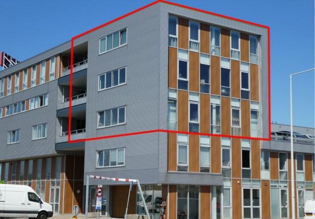 Te verstrekken hypothecaire lening op een bedrijfsruimte met bovengelegen appartement deels bestemd voor de verhuur en deels bestemd voor eigen gebruik te Amsterdam