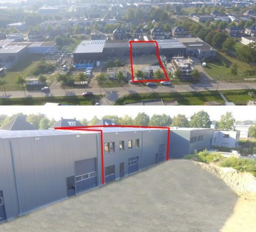 Te verstrekken hypothecaire lening op een nieuw te bouwen bedrijfsruimte met bedrijfswoning bestemd voor de verhuur te Berghem