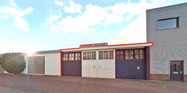 Te verstrekken hypothecaire lening op een bedrijfsruimte met kantoor bestemd voor de verhuur te Alkmaar