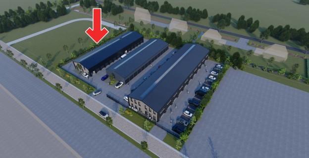 Te verstrekken hypothecaire lening op drie nieuw te bouwen bedrijfsunits bestemd voor de verhuur te Waddinxveen